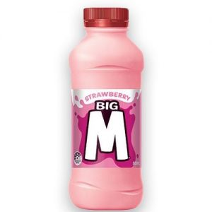 Dairy Farmers Big M Strawberry Flavor Milk 500ml 草莓味