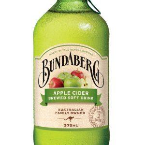 BUNDABERG Apple Cider Brewed Soft Drink 375ml 苹果汽水