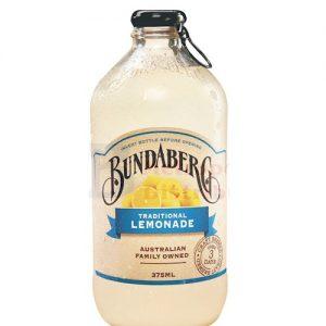 BUNDABERG Tropical Lemonade Sparkling Drink 375ml 柠檬汁