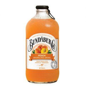 BUNDABERG Peach Sparkling Drink 375ml 桃汁