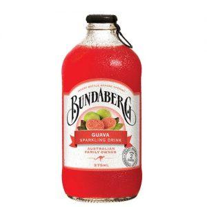 BUNDABERG Guava Sparkling Drink 375ml 番石榴果汁