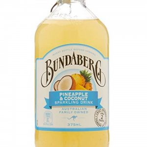 BUNDABERG Pineapple&Coconut Sparkling Drink 375ml 菠萝椰奶果汁