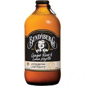 BUNDABERG  Ginger Beer Lemon  375ml