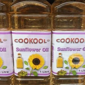 9351834000836/COOKOOL Sunflower Oil 1Litre 葵花籽油1L