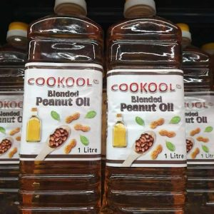 9351834000911/COOKOOL Blended Peanut Oil 1Litre 调和花生油1L