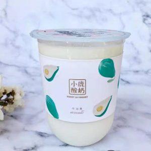 Sweet Lu Yoghurt Avocado Flavor 500ml 小鹿酸奶牛油果味