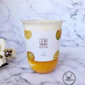 Sweet Lu Yoghurt Mango Flavor 500ml 小鹿酸奶芒果味