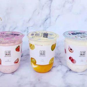 Sweet Lu Yoghurt Red Bean Flavor 500ml 小鹿酸奶红豆味