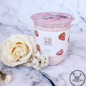 Sweet Lu Yoghurt Strawberry Flavor 500ml 小鹿酸奶草莓味
