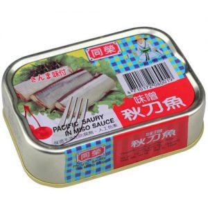 同榮味噌秋刀魚(易开罐) 150g