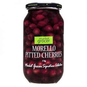 TMG MORELLO PITTED CHERRIES 1KG 澳洲去核樱桃