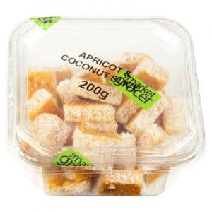 TMG APRICOT&COCONUT SLICE 200G 果脯点心杏子&椰子味