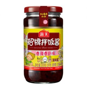 BS-海天招牌拌饭酱 300G/HT SIGNATURE SAUCE FOR RICE 300G