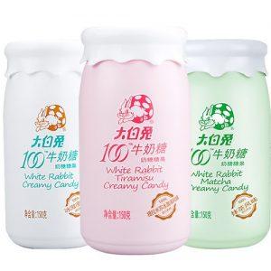 大白兔/抹茶牛奶糖 150G/WR/MATCHA CREAMY CANDY 150G