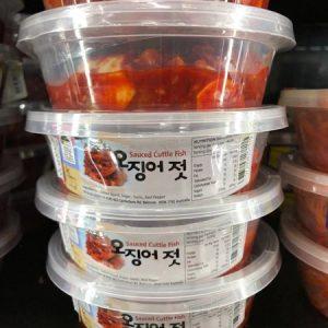 KORYO/SAUCED CUTTLE FISH 墨鱼酱