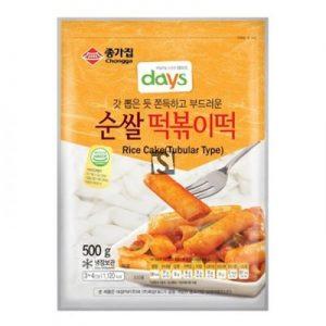 CHONGGA韩式年糕条500G/CHONGGA TUBULAR RICE CAKE 500G