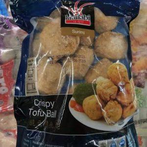 HANABI香脆豆腐鱼丸 500G/HANABI SURIMI CRISPY TOFU BALL 500G