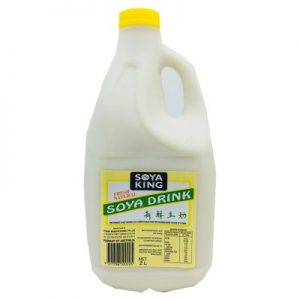 SOYA KING新鮮豆奶(黄盖)2L/SOYA KING BEAN DRINK  NATURAL 2L