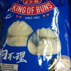 BF-包子王狗不理包子4PCS 250G/KING OF BUNSMINI PORK BUN 250G