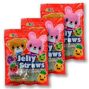ABC/熊兔水果果冻条 300G/ABC FRUIT JELLY 300G