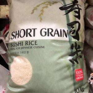 SUN RICE/日本寿司米 10KG/JAPANESE STYLE SUSHI RICE 10KG