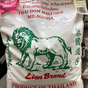 狮子/茉莉香米 10KG/LION JASMINE RICE 10KG