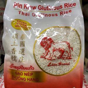狮子/泰国顶上香糯米 2KG/LION GLUTIOUS RICE 2KG