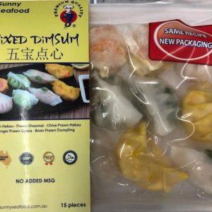 Sunny Seafood MIXED DIMSUM 15P 450G/港式五宝点心15P 450G