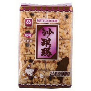台湾西岛沙琪玛葡萄味250G/SEAWOODS RAISIN SOFT CAKE SACHIMA 250G