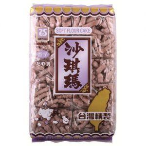 台湾西岛沙琪玛香芋味250G/SEAWOODS TARO SOFT CAKE SACHIMA 250G