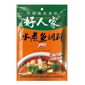 好人家/水煮鱼调料 198GHRJ/FISH SEASONING 198G