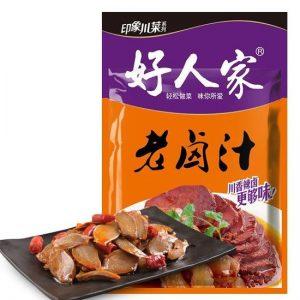 好人家/香辣老卤汁 120GHRJ/HOT&SPICY MARINADES 120G