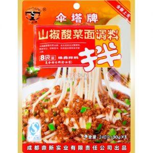 伞塔牌/山椒酸菜面调料  240G
