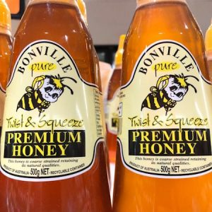 澳洲蜂蜜BONVILLE PREMIUM SQUARE HONEY 500G