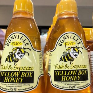 澳洲蜂蜜BONVILLE YELLOW BOX HONEY 375G