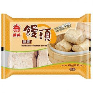 义美奶素营养荞麦馒头6个入480g/IMEI Mutrition Steamed Bun 6pcs 480g