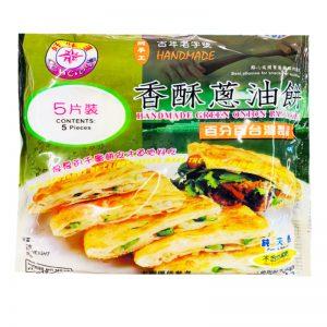 好味道香酥葱油饼5片装525g/HWD Handmade Green Onion Pancake 5pcs 525g