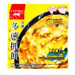 奇美多葱抓饼600g/CHIMEI Fluffy Green Onion Waffle 600g