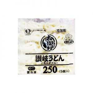 日本冷冻大鼓判讚岐拉面5个入1.25kg