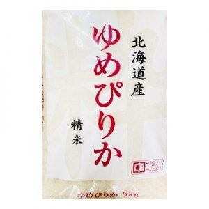 日本北海道产精米5kg/Japanese Hakkado Rice 5KG