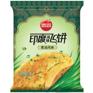 思念印度风味飞饼葱油风味5片装300g/Synear Spring Onion Roti Paratha 5pcs 300g