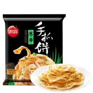 思念手抓饼葱香味5片装450g/Synear Plain Pancakes Green Onion Flavor 5pcs 450g