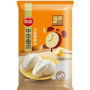 思念中华面点玉兔奶黄包12pcs380g/Synear Rabbit Cream Bun 12pcs 360g