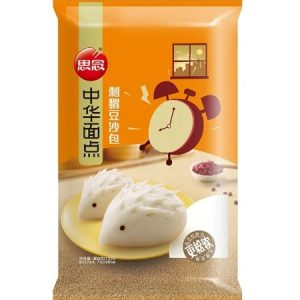 思念中华面点刺猬豆沙包12pcs360g/Synear Hedgehog Red Bean Bun 12pcs 360g