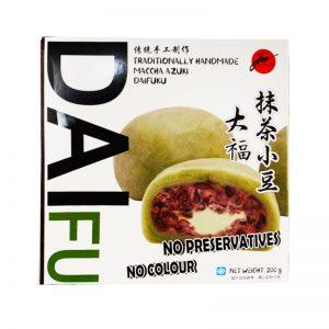 Jun抹茶慕斯夹心麻薯200g/Jun Maccha Azuki DAIFUKU 200g