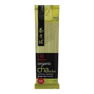 Hakubaku有机抹茶荞麦面200g/Hakubaku Organic Cha Soba 200g