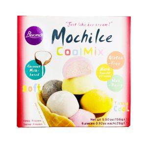 Buono超好吃混合果味麻薯糯米糍6个入156g/Buono Mochike Coolmix 6pcs 156g
