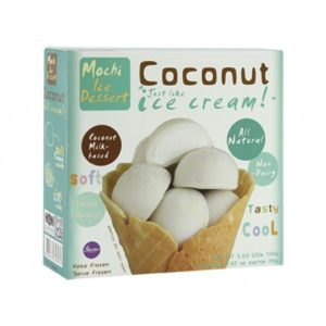 Buono超好吃椰奶麻薯糯米糍6个入156g/Buono Mochike Coconut 6pcs 156g