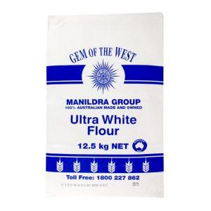澳洲特白面粉12.5KG/Manildra Group Ultra White Flour 12.5kg