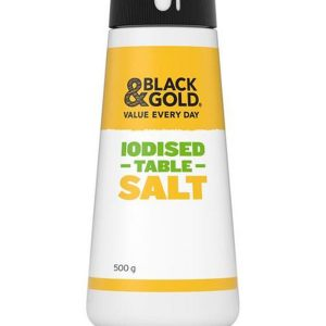 Black&Gold食用盐500g/B&G Iodised Table Salt 500g